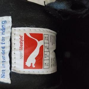 Puma Ducati leather shoes